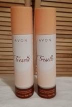 2 PACK ))  Avon Treselle Body Spray Deodorant  - 75ml each - $17.99