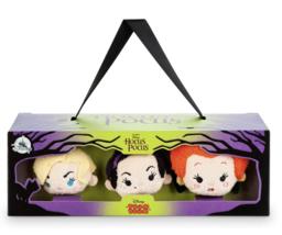 Disney Hocus Pocus Tsum Tsum Plush Set Mini 3 1/2 New with Box - $20.26