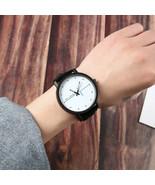 Creative simple ECG pattern trend belt lovers men / women students watch... - $17.91
