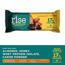 Rise Bar Non-GMO, Gluten Free, Soy Free, Real Whole Food, Whey Protein Bar 17g,  image 4