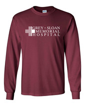 466 Greys Memorial Hospital Long Sleeve Shirt tv show hospital doctor nurse new - $19.99+