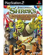 NEW SEALED Shrek's Carnival Craze Party Games (Sony PlayStation 2 2008) ... - $13.79