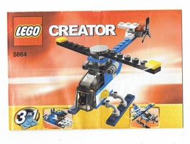 LEGO Creator 5864 nstruction Booklet Manual ONLY - $5.00