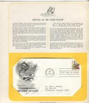 Jan 4 1974 USPS Zip Code System #1511 FDC PCS Artcraft Mounted - $5.49