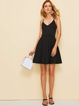 Women's Dress Solid Fit & Flare Skater Cami Dress - $29.00
