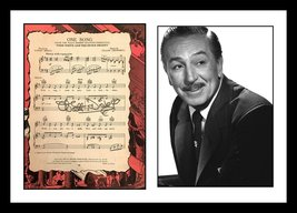 ULTRA RARE - WALT DISNEY - HOLLYWOOD LEGEND - AUTHENTIC HAND SIGNED AUTO... - $349.99