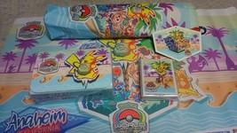Pokemon Card Wcs 2017 World Congress Anaheim Limited Play Mat Case Sleeve 3 - $138.99