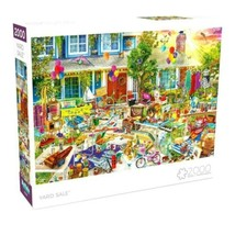 2000 Piece Jigsaw Puzzle Buffalo Games, Amiee Stewart 38 in x 26 in, YAR... - $31.30