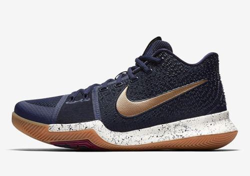quality design 3eae4 a69aa Nike Kyrie 3 OBSIDIAN METALLIC Gold Men Size and 50 similar items