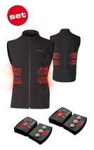 SET - LENZ Heat Vest 1.0 Women + batteries lithium pack rcB 1800 - $349.00