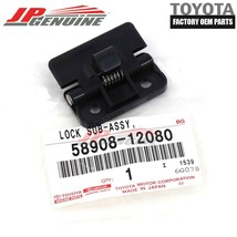 Genuine Toyota Lexus Oem Center Console Compartment Door Cover Lock 58908-12080 - $20.66