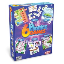 Junior Learning Different Phonics Games Set of 6 - $30.79