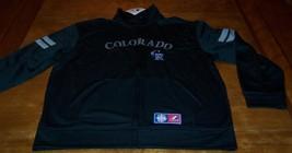 Colorado Rockies Mlb Baseball Stitched Jacket Xl New w/ Tag - $69.30