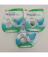 """Nexcare Flexible Clear Tape for Discreet Hold 3/4"""" x 7 yards (Lot of 3) - $16.50"""