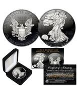 Black RUTHENIUM SILHOUETTE 1 Troy Oz US Mint 2019 American Silver Eagle ... - $74.76