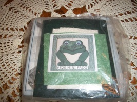 Magic Quilt Mini Frog Wall Hanging Kit - $8.00