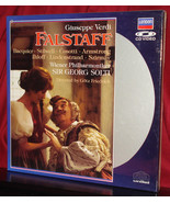 New! Giuseppe Verdi's 'FALSTAFF' -  Sir Georg SOLTI on Laser Disc, SEALE... - $9.95