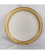 Johann Haviland Crowning Fashion Golden Band Chop Plate - $17.77