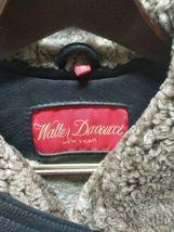 Walter Davoucci Women  Lambskin Leather Shearling Jacket Sz Medium Coat image 10