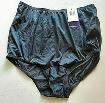 Size 6 Vanity Fair Women's Perfectly Yours Classic Nylon Brief Panty 15012 - $8.89