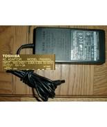 "Toshiba Tecra PA2450U AC Adapter 8000 8100 8200 Others 15vdc 3.0a 1/4"" B... - $8.90"