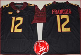 12 Deondre Francois - Florida State Seminoles football Stitched Jersey #... - $40.00