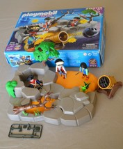 Playmobil Pirate Island Starter Set (3127) Almost Complete - $12.86