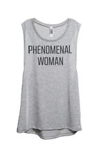 Thread Tank Phenomenal Woman Women's Sleeveless Muscle Tank Top Tee Spor... - $24.99+