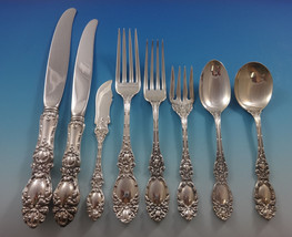 Lucerne by Wallace Sterling Silver Dinner Flatware Set For 8 Service 64 Pieces - $3,995.00