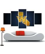 Golden State Warriors Decor Canvas Poster Nba Wall Art 5 Piece Canvas Fr... - $74.99+