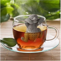 Tea Infuser Lazy Sloth Silicone Reusable Strainer Coffee Herb Filter Dif... - $3.89