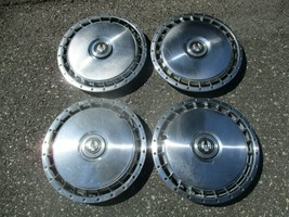Factory 1980 1981 Chrysler Lebaron 15 inch hubcaps wheel covers - $139.90