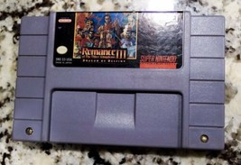 Romance of the Three Kingdoms III (Super Nintendo, 1994)- Tested - $38.35