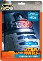 STAR WARS Light-up (Light Up)  JOURNAL~120 pages~Brand New and SEALED. R... - $5.89