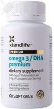 Xtend-Life Omega 3 DHA Premium Fish Oil - 100% Pure Natural Fishoil 700m... - $34.53