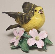 The Lenox Garten Vogel Sammlung Gelb Waldsänger (Feines Porzellan 1994) - $34.51