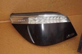 08-10 BMW E60 LED Tail Light Lamps Set Pair Left Right LH & RH - Smoked image 2