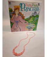Pretty Pretty Princess Jewelry Board Game 1999 PARTS/REPLACEMENT pink ne... - $5.50