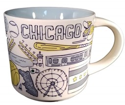 Starbucks 2018 Chicago, Illinois Been There Collection Coffee Mug NEW IN... - $29.48