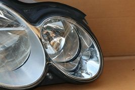 05-07 Mercedes W203 C55 Halogen Headlight Head Light Lamp Passenger Right RH image 3