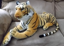 "REAL LIFE TIGER ROYAL RICH New Plush Stuffed Animal 24"" JAPAN IMPORT TOR... - $47.99"