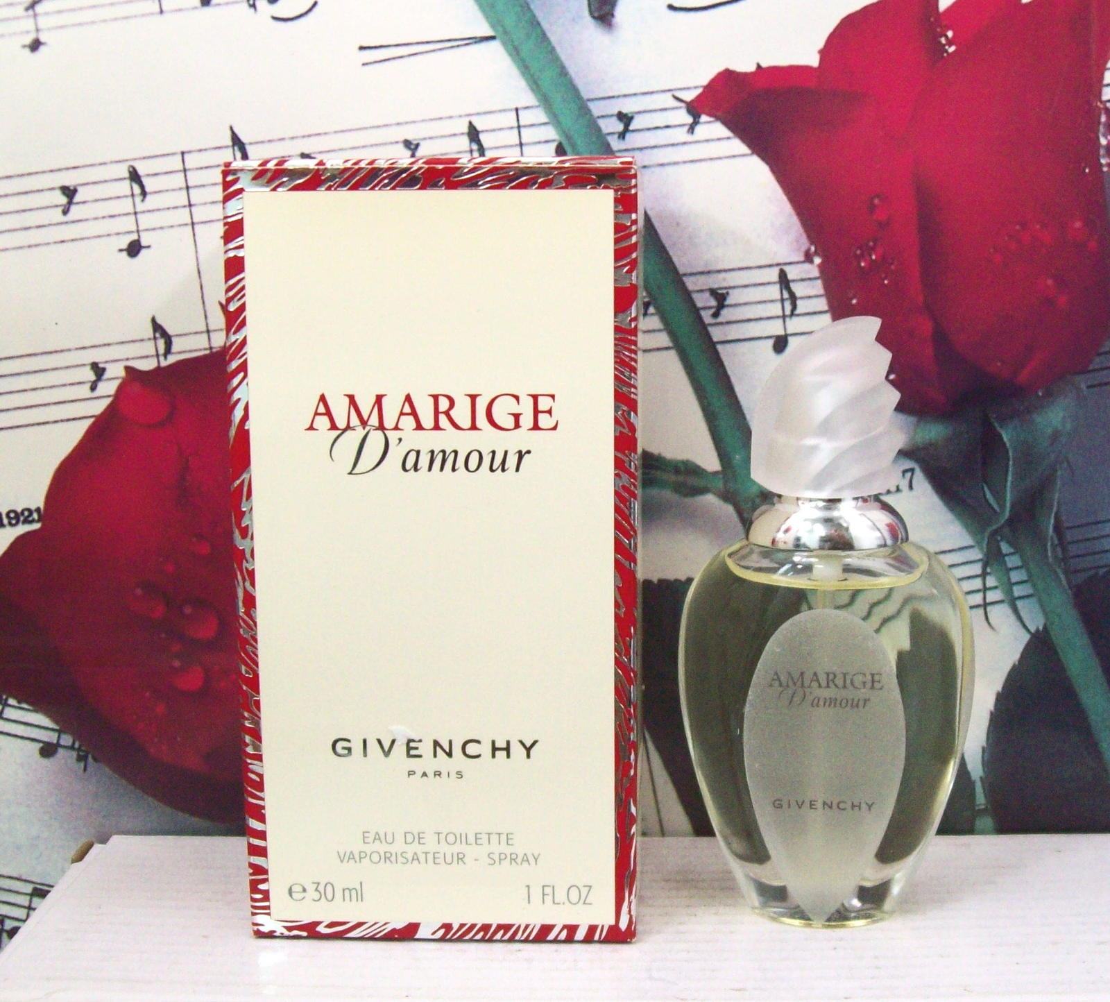 Primary image for Givenchy Amarige D'Amour EDT Spray 1.0 FL. OZ. NWB