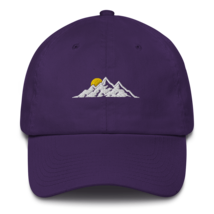 MOUNTAINS HAT / MOUNTAINS EMBROIDERED HAT / MOUNTAINS EMBROIDERED CAP / COTTON C image 3
