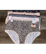 Adrienne Vittadini Womens Brief Underwear Panties Polyester Blend 5-Pair (A), 2X - $28.05