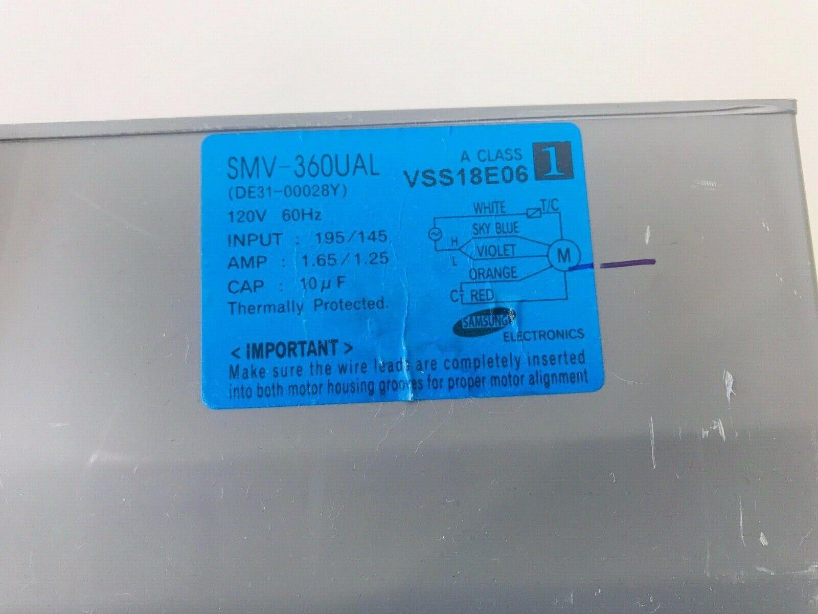 Samsung Microwave Blower Assembly DE31-00028N DE31-00028Y