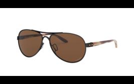 Oakley Tie Breaker Sunglasses OO4108-18 Polished Black W/ PRIZM Tungsten... - $111.66