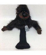 Golf Club Head Cover Plush Stuffed Animal Black Monkey Gorilla Ape #1 - $14.01
