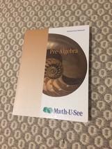 Mathusee Pre-Algebra Instruction Manual - $23.33