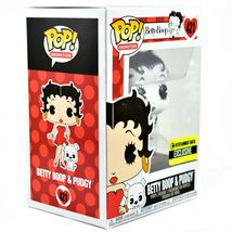 Funko Pop! Betty Boop & Pudgy Black & White Entertainment Earth Exclusive Figure image 5