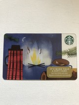 Starbucks Gift Card - NEW - CAMPING 2017 - CAMPFIRE - $2.30